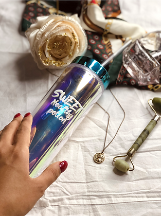 Travel Sippers - Holographic With Straw - Sweet Healthy Potion