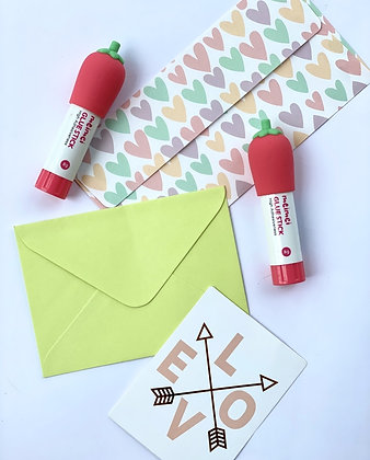 Glue Stick - Strawberry