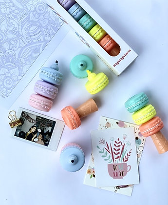 Highlighlighter - Macaroon - Set of 6 Colours