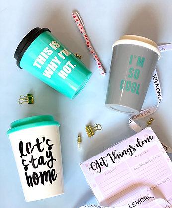 Travel Mug - Let's Stay Home