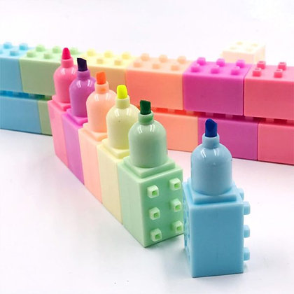 7 Block - Lego - Highlighter Set
