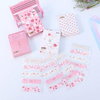 Bandaids - Floral - Set of 5