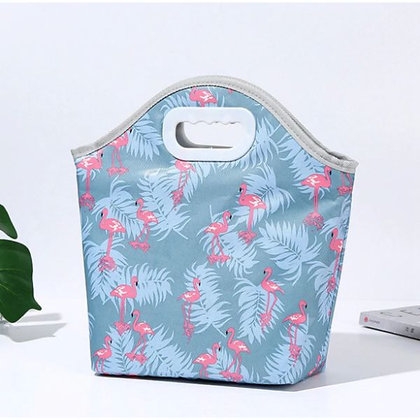 Insulated Lunch Bag - Flamingo