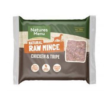 Natures Menu Chicken & Tripe 400g Mince