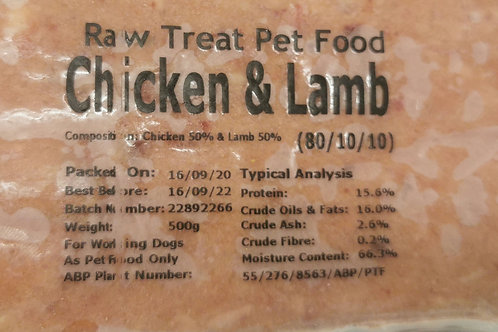 Chicken & Lamb 80/10/10
