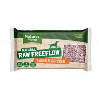 Natures Menu Raw Freeflow Lamb & Chicken Mince
