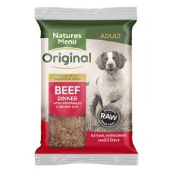 Natures Menu Original Beef Complete Dinner with vegetables & brown rice