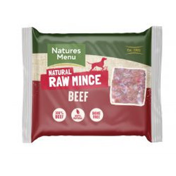 Natures Menu Just Beef 400g Mince