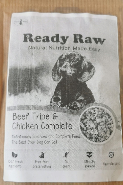 Ready Raw Beef Tripe & Chicken Complete 200g