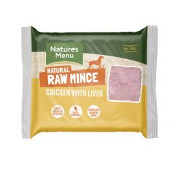 Natures Menu Chicken & Liver Mince 400g