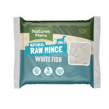 Natures Menu Just White Fish Mince