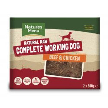 Natures Menu Complete Working Dog Beef & Chicken