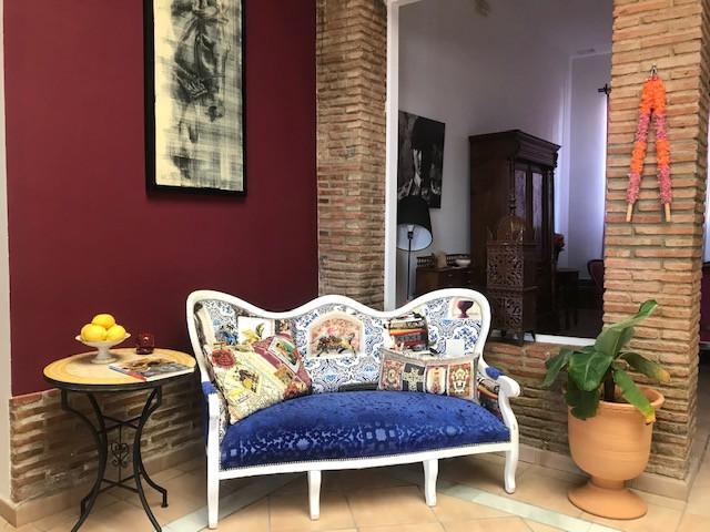 Salón del hotel Andalou