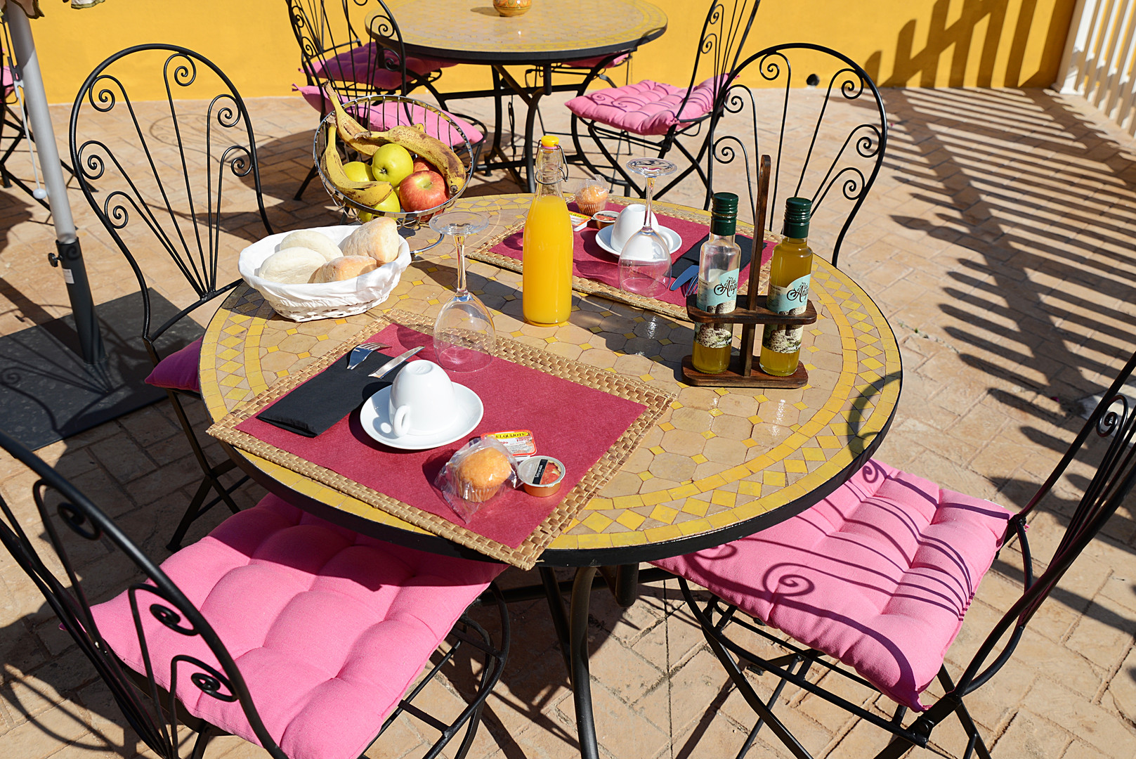 Petit déjeuner hôtel montellano