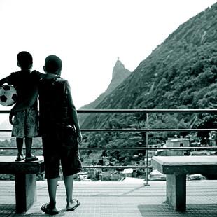 """Obra """"Amigos I Morro Dona Marta"""", 2012"""