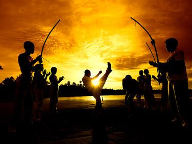 Capoeira em Morro