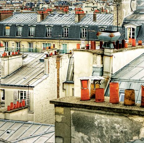 """Obra """"Paris I Telhados"""", 2011"""