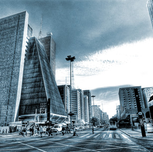 "Obra ""Paulista I Azul"", 2007"