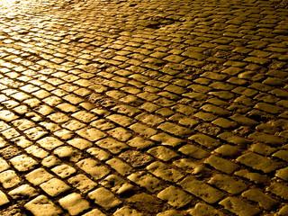 Rua de pedras