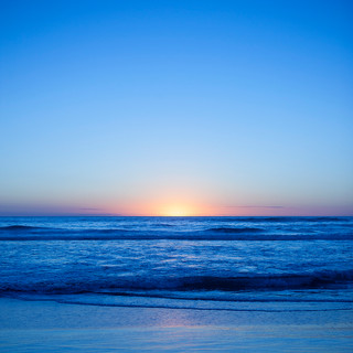 Pôr do sol | Azul