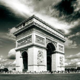 """Obra """"Paris I Arco do Triunfo"""", 2012"""