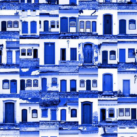 """Obra """"Paraty I Portas Azul"""", 2012"""