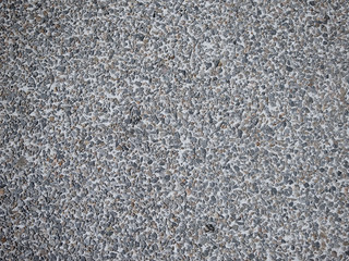 Concreto e pedras