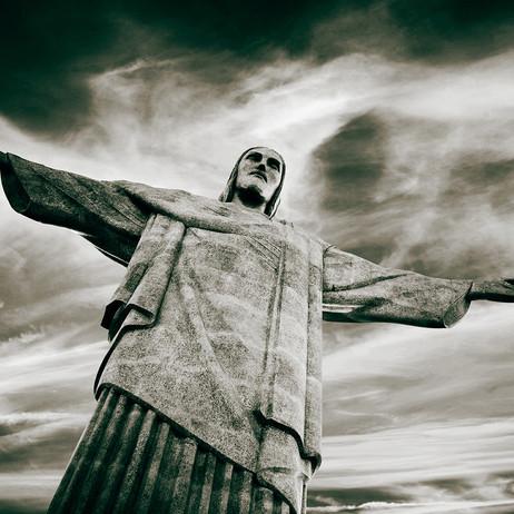 "Obra ""Cristo Redentor I pb"", 2012"