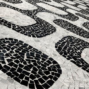 """Obra """"Copacabana I calçadão"""", 2012"""