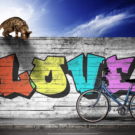 """Obra """"Love"""", 2013"""