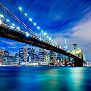 """Obra """"NY I Brooklyn Bridge Noturna"""", 2019"""