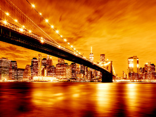 Noturna Brooklyn Bridge | New York