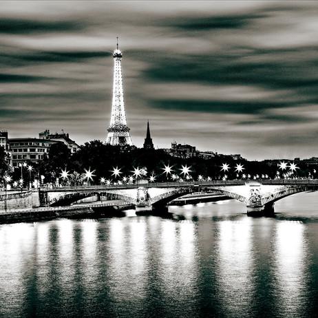 """Obra """"Paris I Ponte Noturna"""", 2012"""
