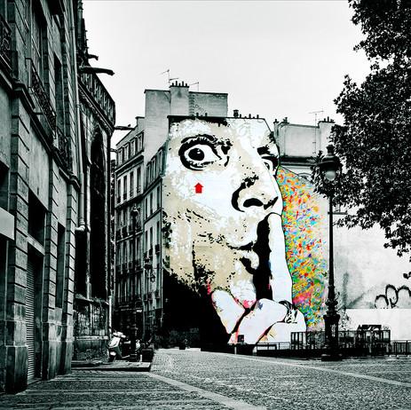 "Obra ""Paris I Grafite"", 2011"