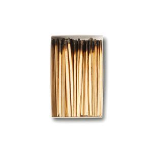 """Obra """"Caixa com palitos queimados"""", 2006"""