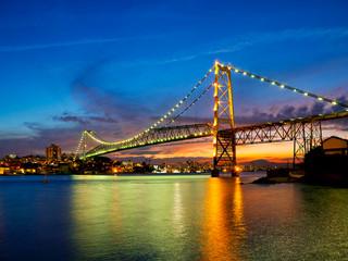 Ponte Hercilio Luz Noturna
