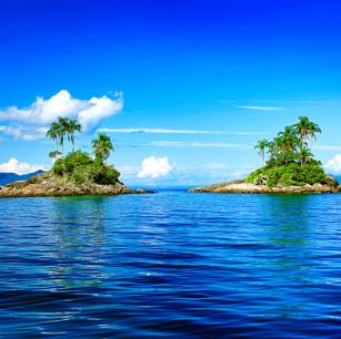 """Obra """"Ilhas I Azul"""", 2009"""