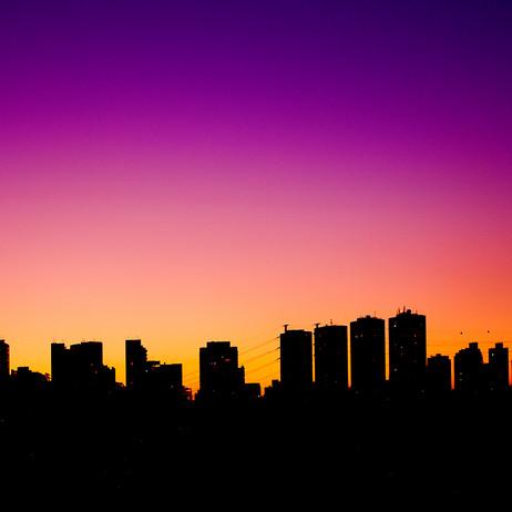 "Obra ""São Paulo I Skyline"", 2007"