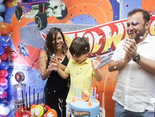 Ricardo 5 anos no Vila Auê