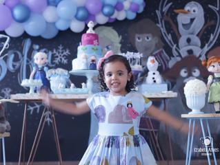 A linda festa de 3 anos da Sofia