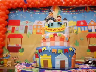 Decoração para festa Junina - Aniversário infantil