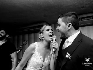 Casamento animado da Laís e do André no Arcádia Domingos Ferreira