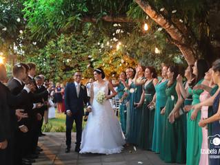 Casamento Mirella e Thiago - Cerimônia evangélica cheia de amor!