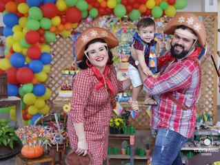 A festa infantil de São João mais linda que você já viu!