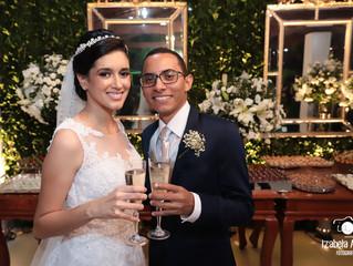 Festa de casamento evangélica - Mirella e Thiago
