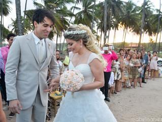Casamento ao ar livre - Praia