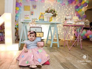 Festa de Menina - Candy Color