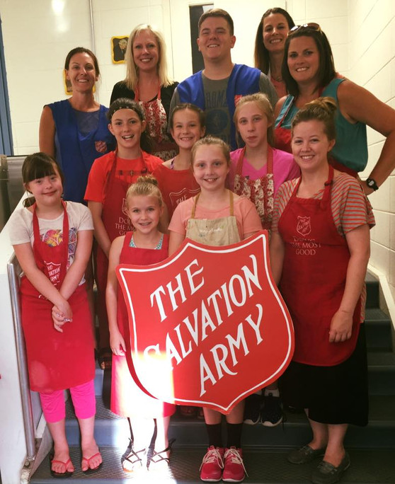 Looking for a Place to Volunteer? Serve in Our Red Shield Diner.
