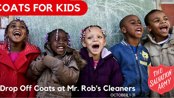 Gather Your Gently Used Winter Coats, Hats & Gloves