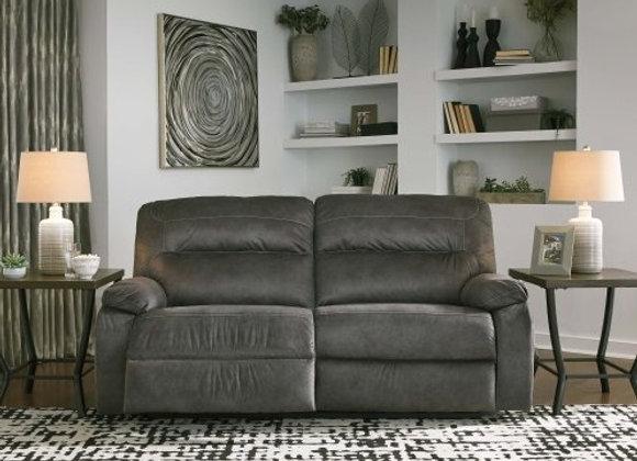 Bolzano Reclining 2 Seat-Sofa in Slate